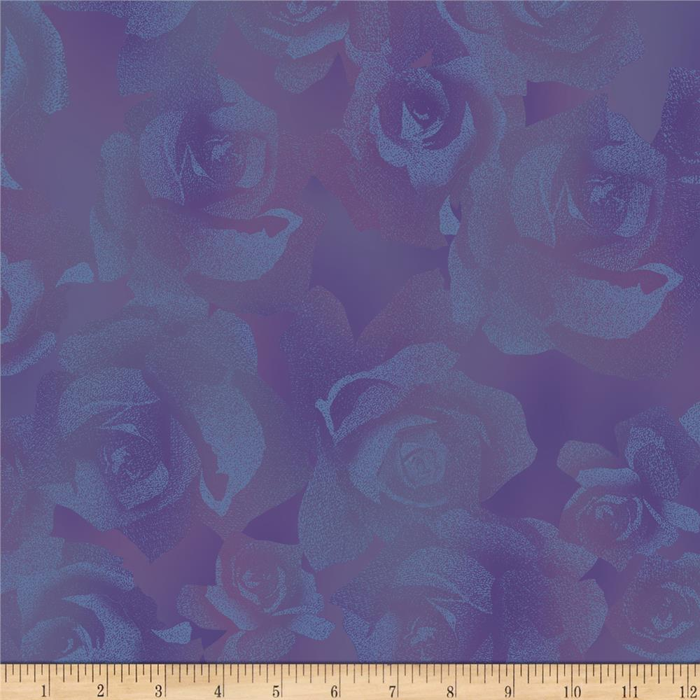 Jinny Beyer Burano Textured Rose Mauve Fabric
