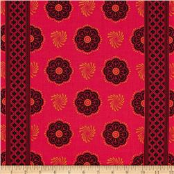 Michael Miller Sari Wrap Pomegranate