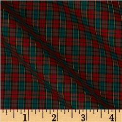 Imperial Tartan Golden Anniversary Plaid Green/Red