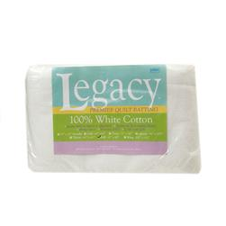 "Pellon White Cotton Batting Full 81"" X 96"""
