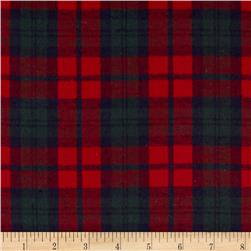 Rodeo Cotton Flannel Plaid Red/Navy/Green