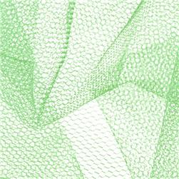 Nylon Net Mint Green Fabric