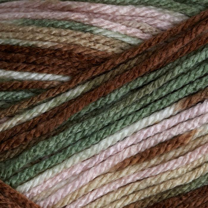 Deborah Norville Everyday Prints Yarn 02 Mint Chocolate Chip