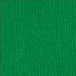 Cotton Spandex Jersey Knit Lush Green