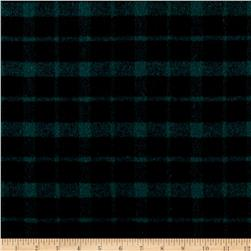 Telio Arlene Wool Plaid Green/Black