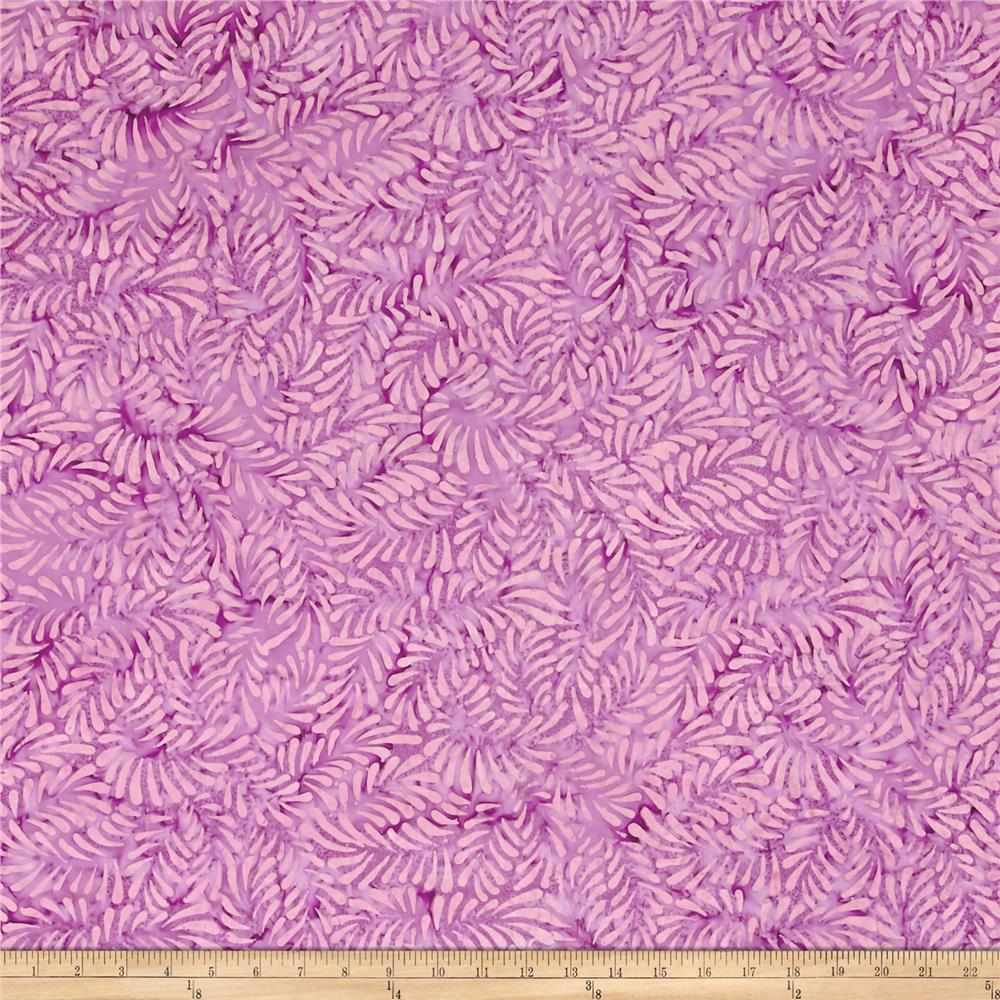 Wilmington Batiks Feathers Dark Violet