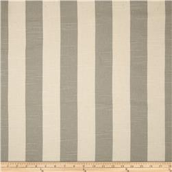 Premier Prints Premier Stripe Slub Coastal Grey/Natural Fabric