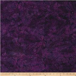 Island Batik Mum Dark Purple