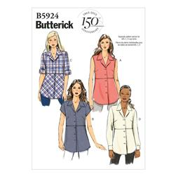 Butterick Misses' Shirt Pattern B5924 Size C50