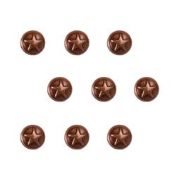 Copper Small Dome Star 36pc