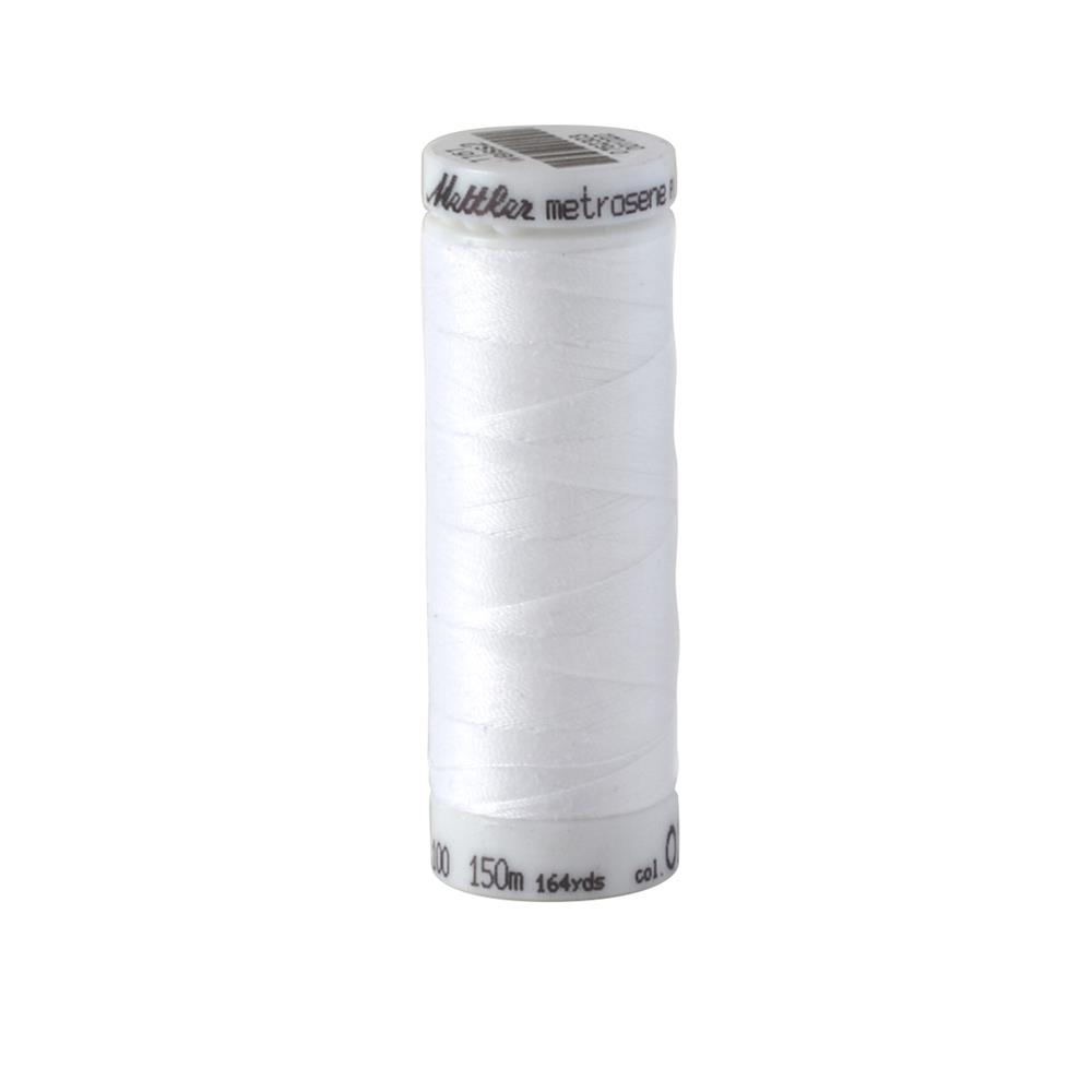 Mettler Metrosene Polyester All Purpose Thread White