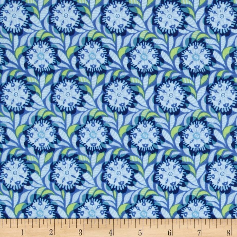 Bloomsbury Medium Ditsy Floral Blue