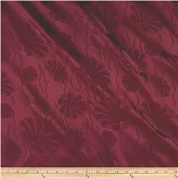 72'' Alpine Shell Tablecloth Burgundy