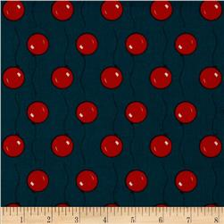 Goodnight Moon Organic Balloons Navy/Red
