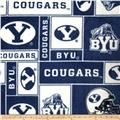 Collegiate Fleece Brigham Young University Blue