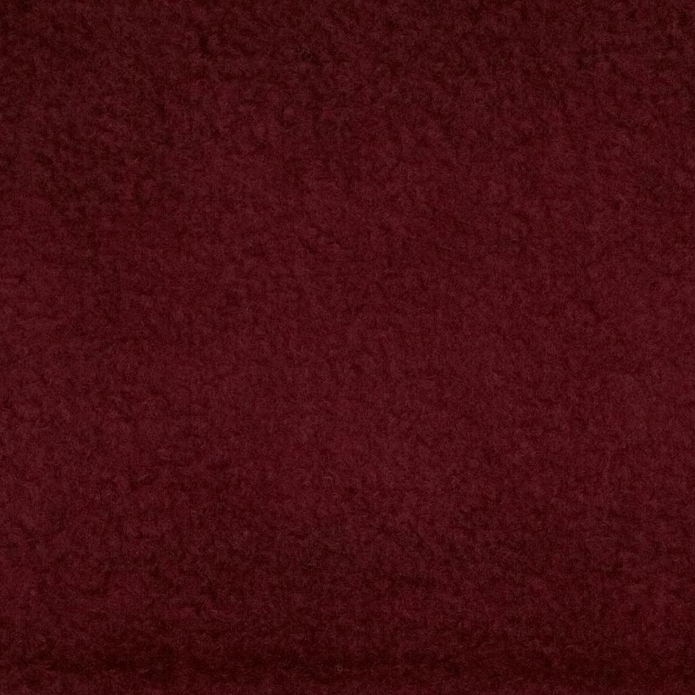Yukon fleece burgundy discount designer fabric for Fabric cloth material