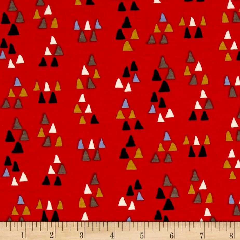 Birch Organic Wildland Interlock Knit Arrowhead Tomato