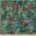 Timeless Treasures Tonga Batik Haunted Spots In Rows Potion