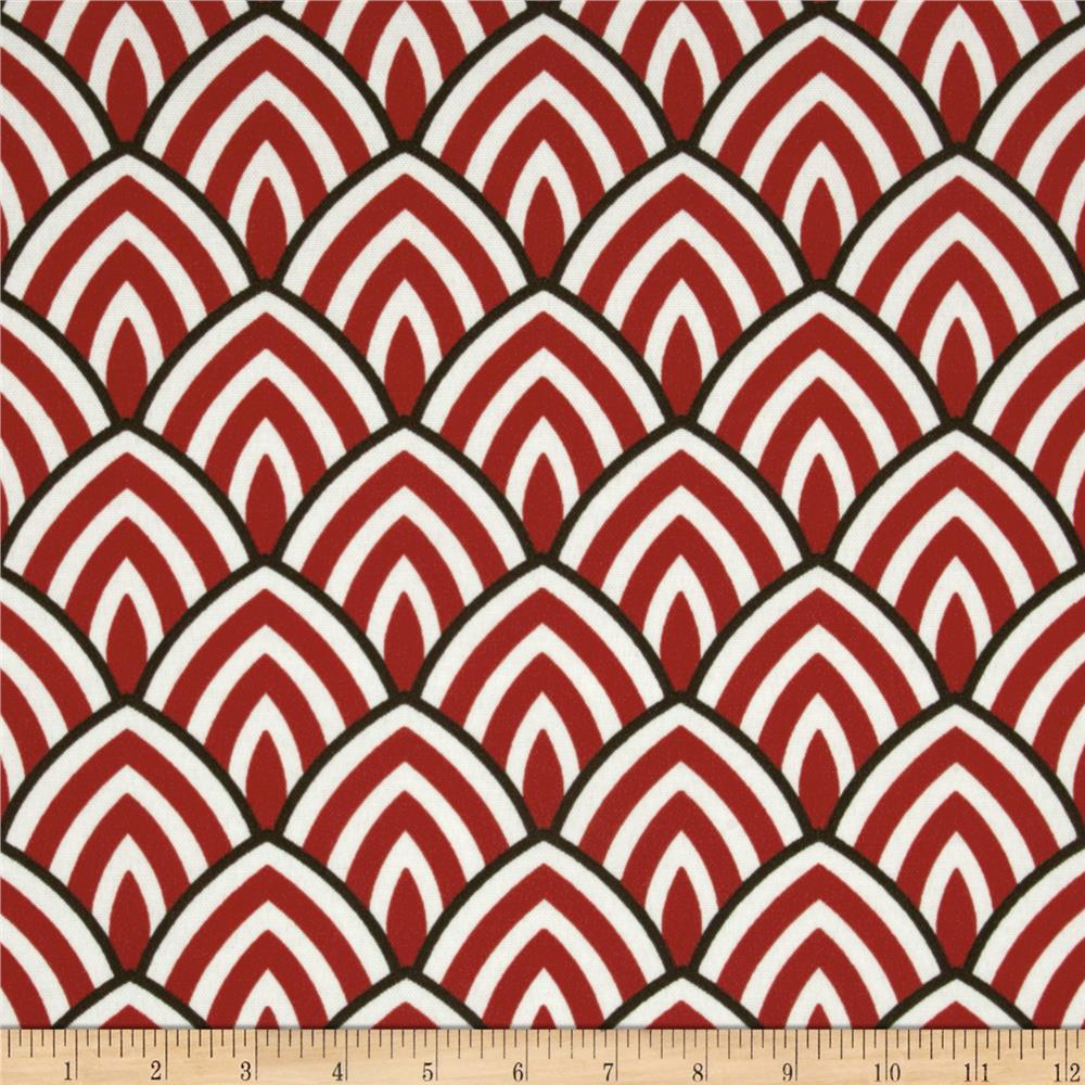 Premier Prints Indoor/Outdoor Lalo Rojo Red