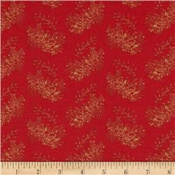 Letters Home Trunk Floral Red