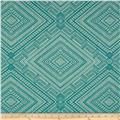 Waverly Cliff Dwelling Jacquard Turquoise