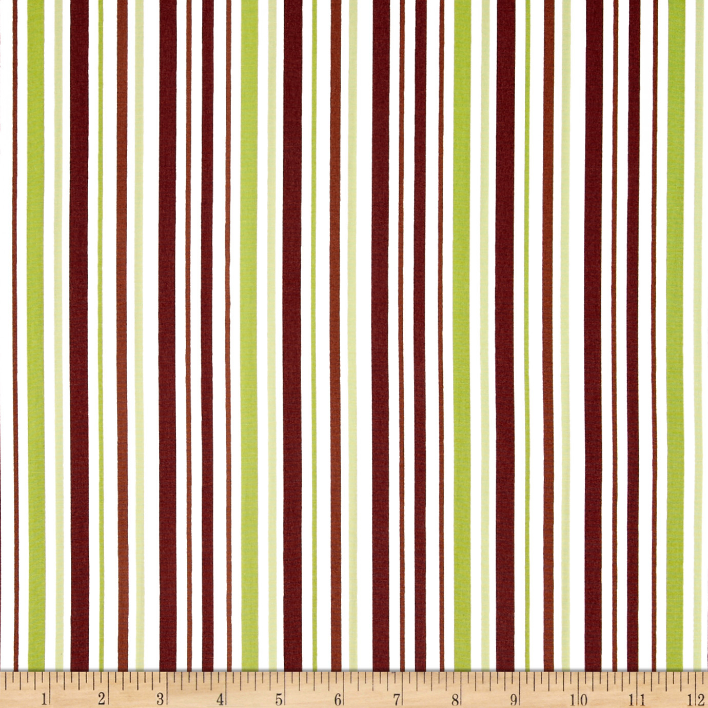 Pimatex Basics Stripe Pistachio Fabric