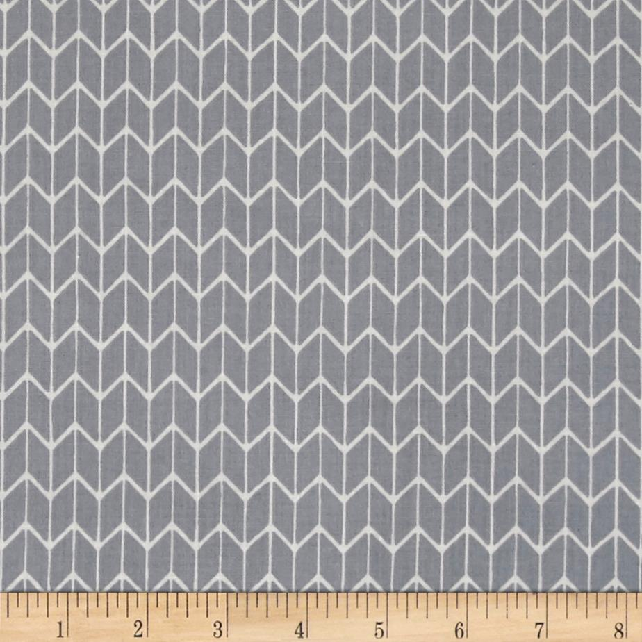 Cosy Home Chevron Gray