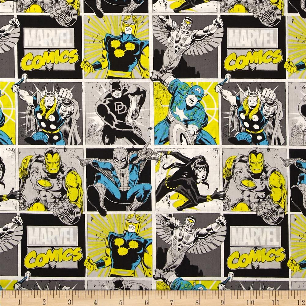Marvel Comics Comic Blocks Sunshine