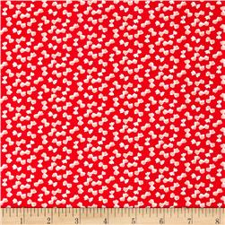 Moda Little Ruby Little Bows Red