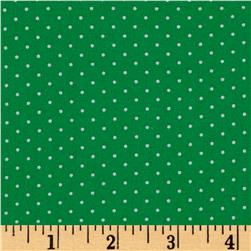 Moda Sugar Plum Christmas Christmas Dot Icing Green