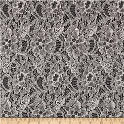 Telio Winter Memory Lace Fleece Grey/Ivory
