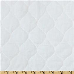 Quilted Muslin White