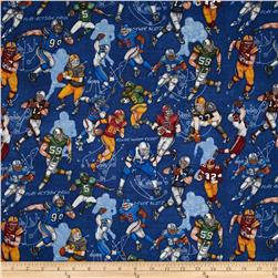 Whole 9 Yards Football Players Blue