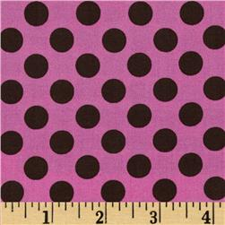 Michael Miller Ta Dot Orchid Fabric