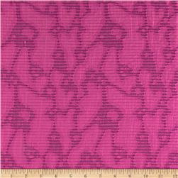 Harlow Jacquard Shirting Pink Fabric