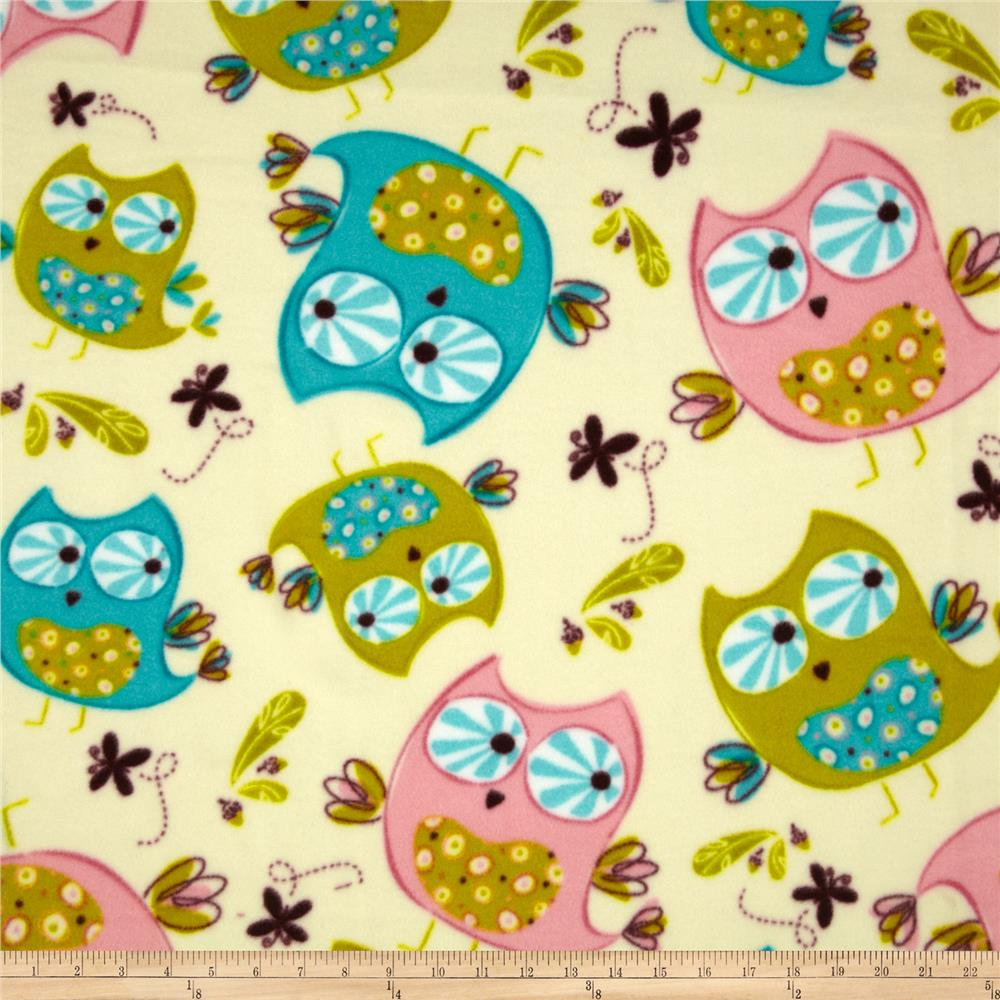 Fleece Owls Ivory