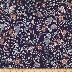 Liberty of London Tana Lawn Crochet Meadow Purple/Pink