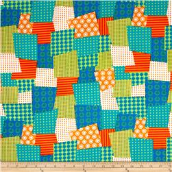 Ruff Patchwork Green/Multi