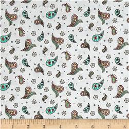 Maywood Studio Roam Sweet Home Little Paisley Soft Gray