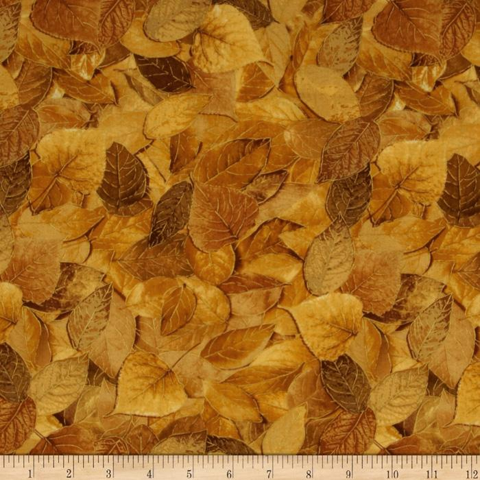 Sienna Collection Fall Leaves Gold