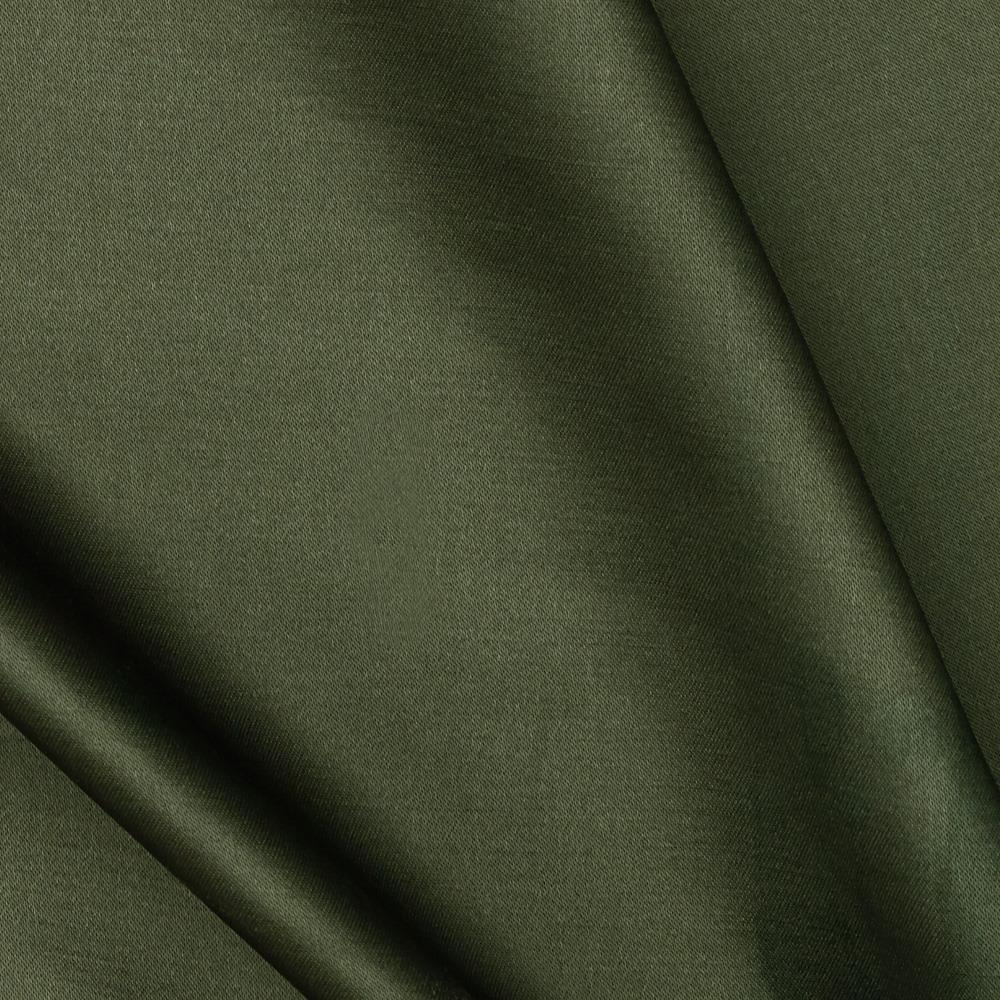 Designer Satin Dark Green