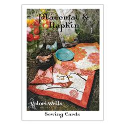 Valori Wells Placement & Napkin Sewing Card Pattern