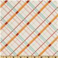Riley Blake Avignon Plaid Aqua Blue