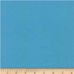 Timeless Treasures Pin Dots Turquoise Fabric