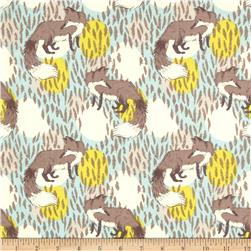 Timber & Leaf Playful Fox Blue