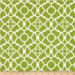 Waverly Lovely Lattice Sateen Garden Green
