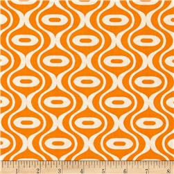 Riley Blake Hipster Rain Drop Orange