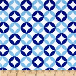 Flannel Floral Mosaic Blue/Teal