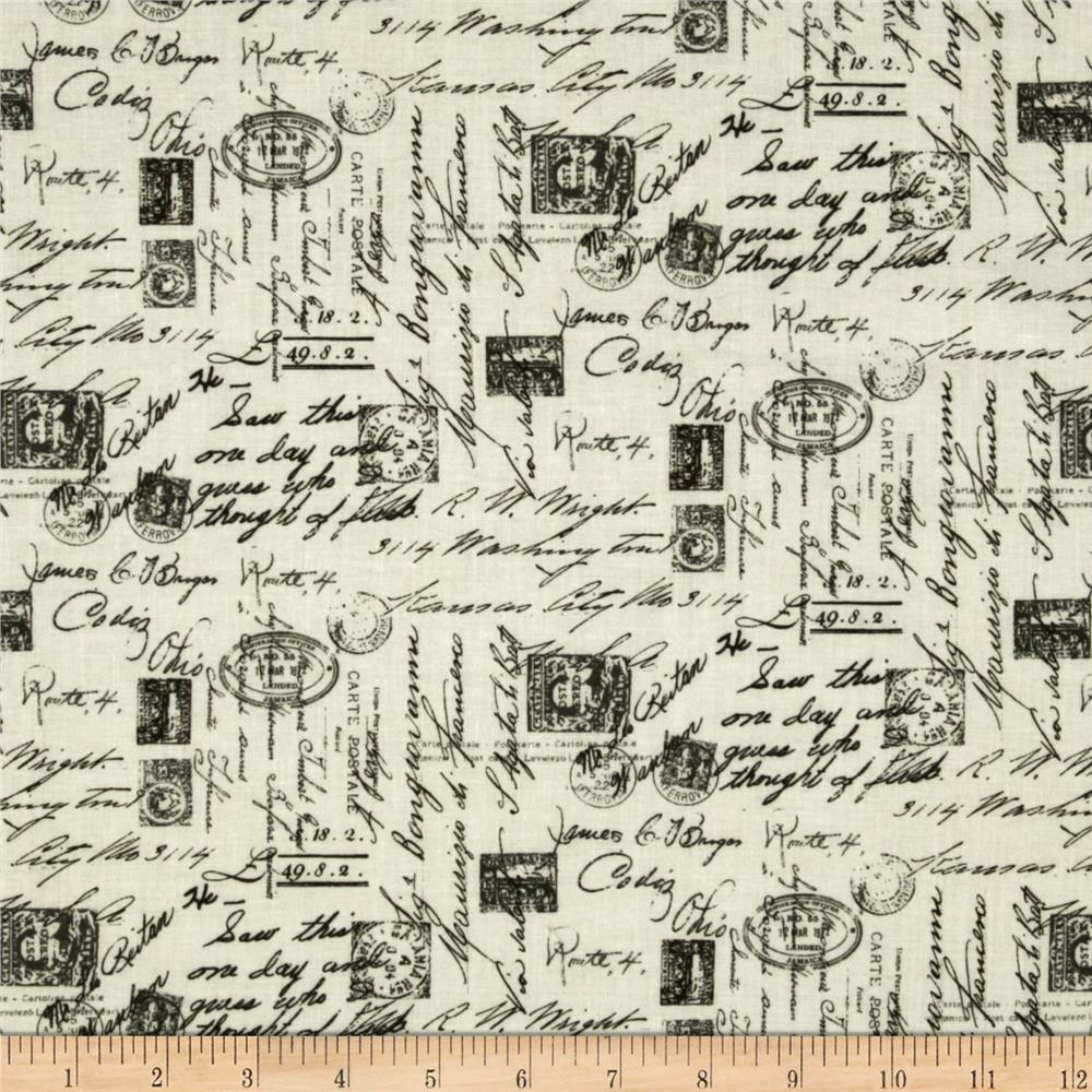 excellent french script fabric by the yard. Timeless Treasures Letters from Paris Script Cream  Discount Designer Fabric com