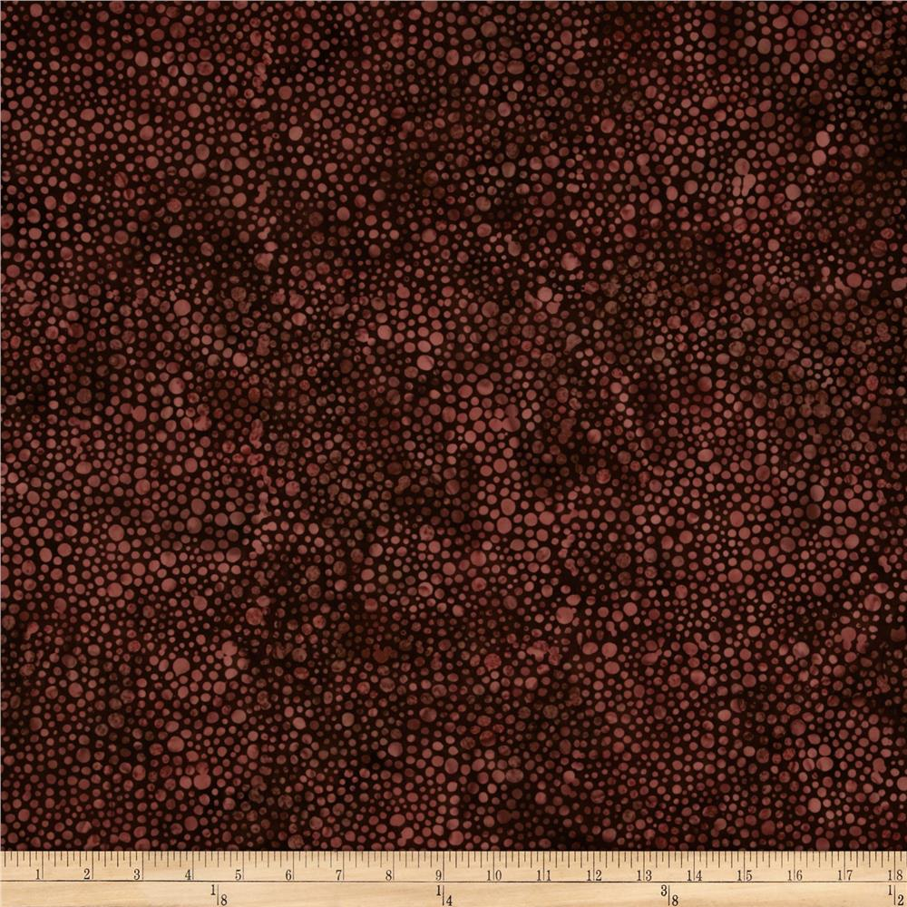 Bali Batiks Handpaints Dots Nightshade